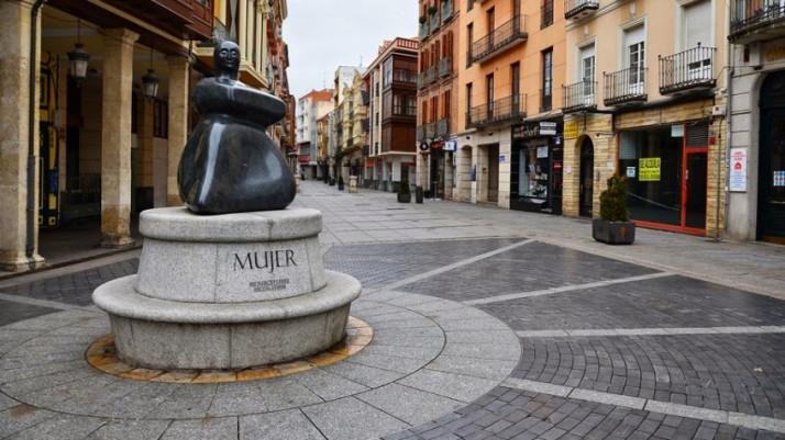Ruta por Palencia - Calle Mayor