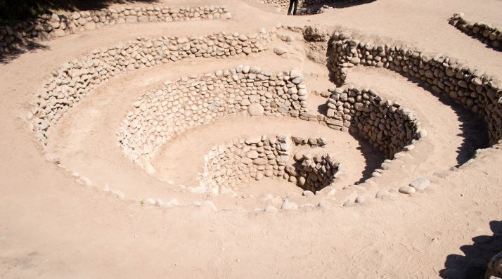 Ruta por Peru - Acueducto de Cantalloc