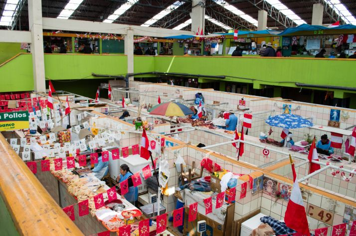Ruta por Peru - Mercado de Puno