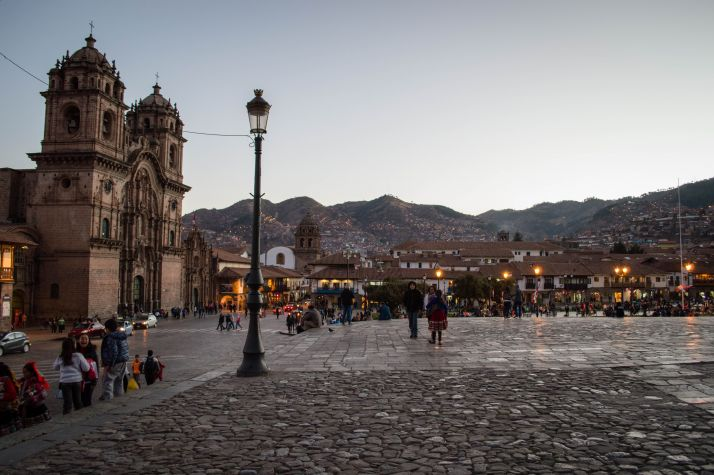 Ruta por Peru - Plaza de armas Cuzco